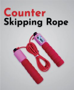 counter skipping rope