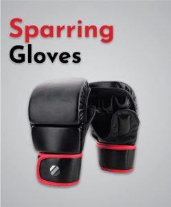 MMA sparring gloves
